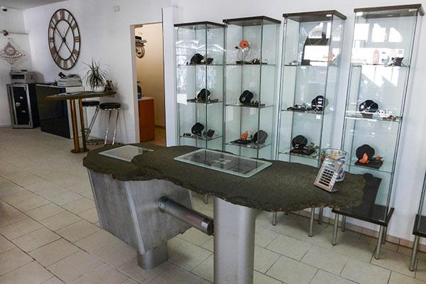Juwelier Winkels Standort Meerbusch Innenaufnahme